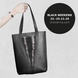 BLACK WEEKEND Noch bis einschließlich Sonntag, 25.11.18 erwarten euch auf sharokina.com exklusive Angebote für ausgewählte Produkte! Nur solange der Vorrat reicht, also schnell sein lohnt sich! —— SHOP: www.sharokina.com/shop DISCOVER MORE: @sharokina • • • #SHAROKINA #FashionFollowsEmotion #uniqueb...