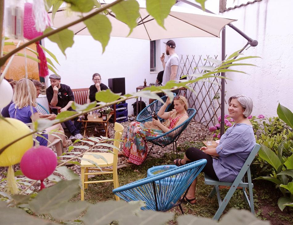 Sommerfest im Atelier hinter Indien Düsseldorf