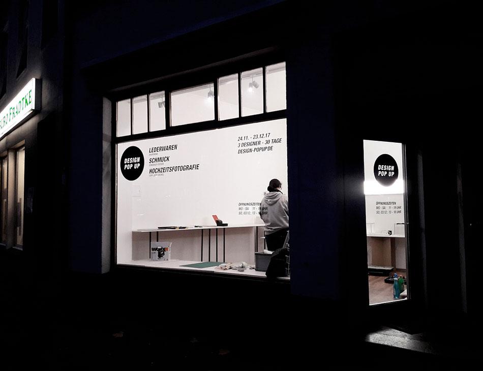 Design Pop Up Store Düsseldorf