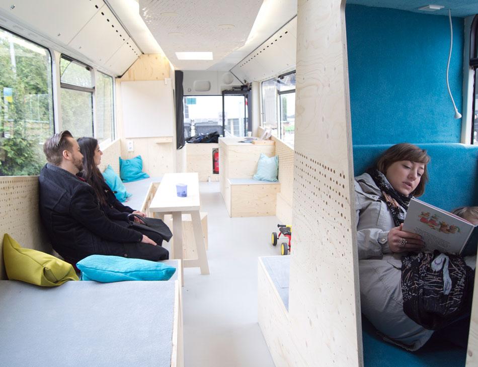 Mobiles Lernhaus HSD PBSA Flüchtlingsunterkunft Benrodestraße Düsseldorf