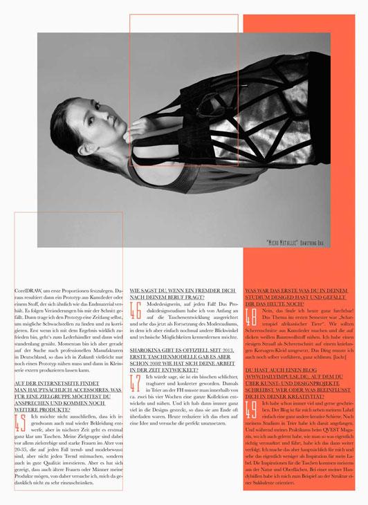 SHAROKINA Interview Garcia Magazin