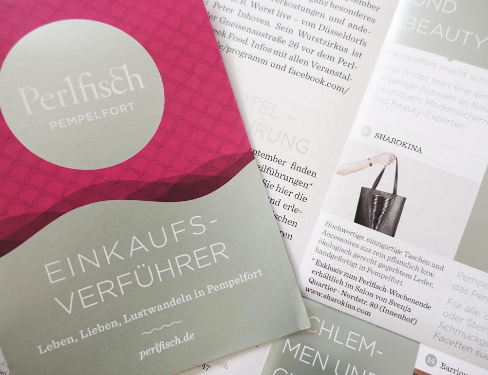 Perlfisch Pempelfort Düsseldorf, SHAROKINA Pop Up Store, Ledertaschen und Accessoires
