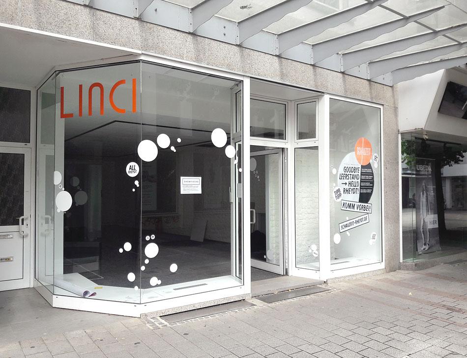Leerstehendes Ladenlokal Mönchengladbach Rheydt Schauzeit