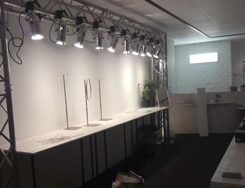 Ladenbau Pop Up Store Showpieces Schauzeit Rheydt