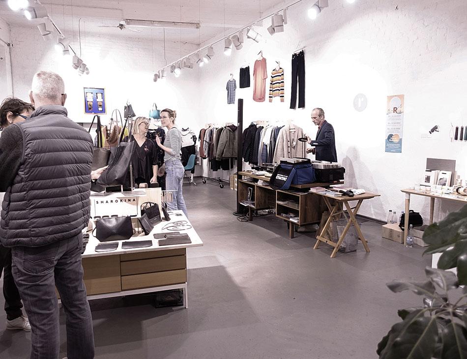Perlfisch Pempelfort bei Roberta Organic Fashion Düsseldorf Nordstraße