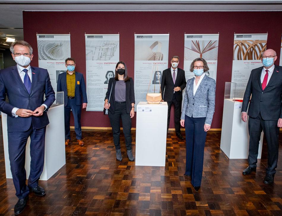 Sharokina Golpashin beim Manufactum Staatspreis NRW