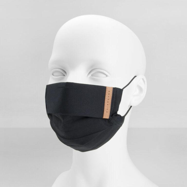 Stoffmaske Basic Black