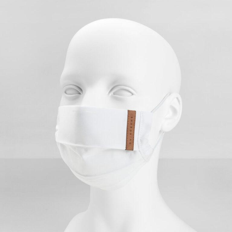 Stoffmaske Basic White