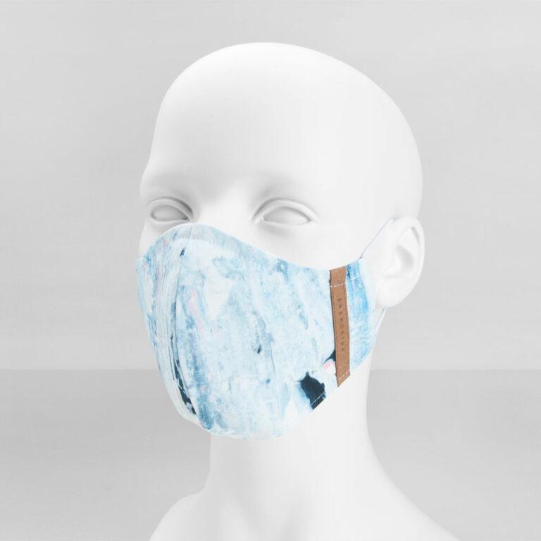 Stoffmaske Premium Unique Blue